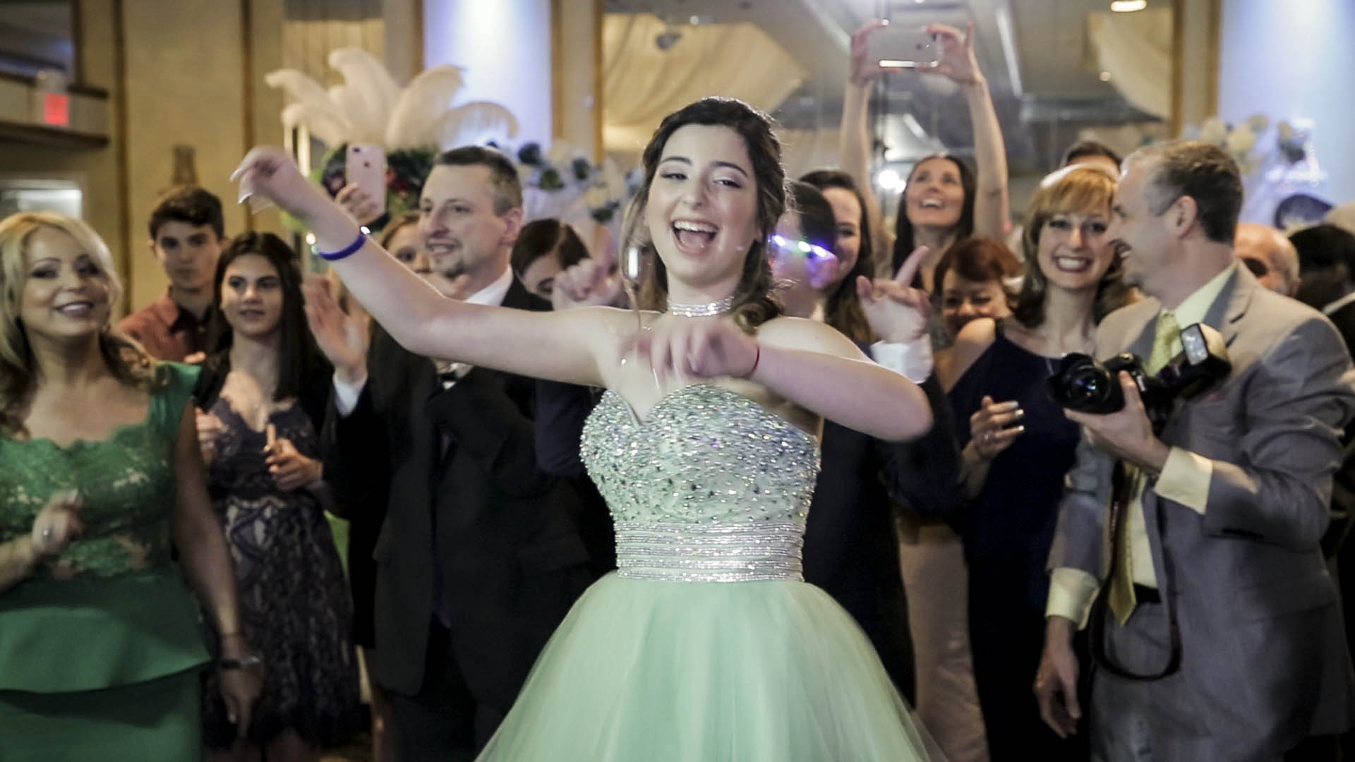 Atrium Country Club Bat Mitzvah Video of Emma