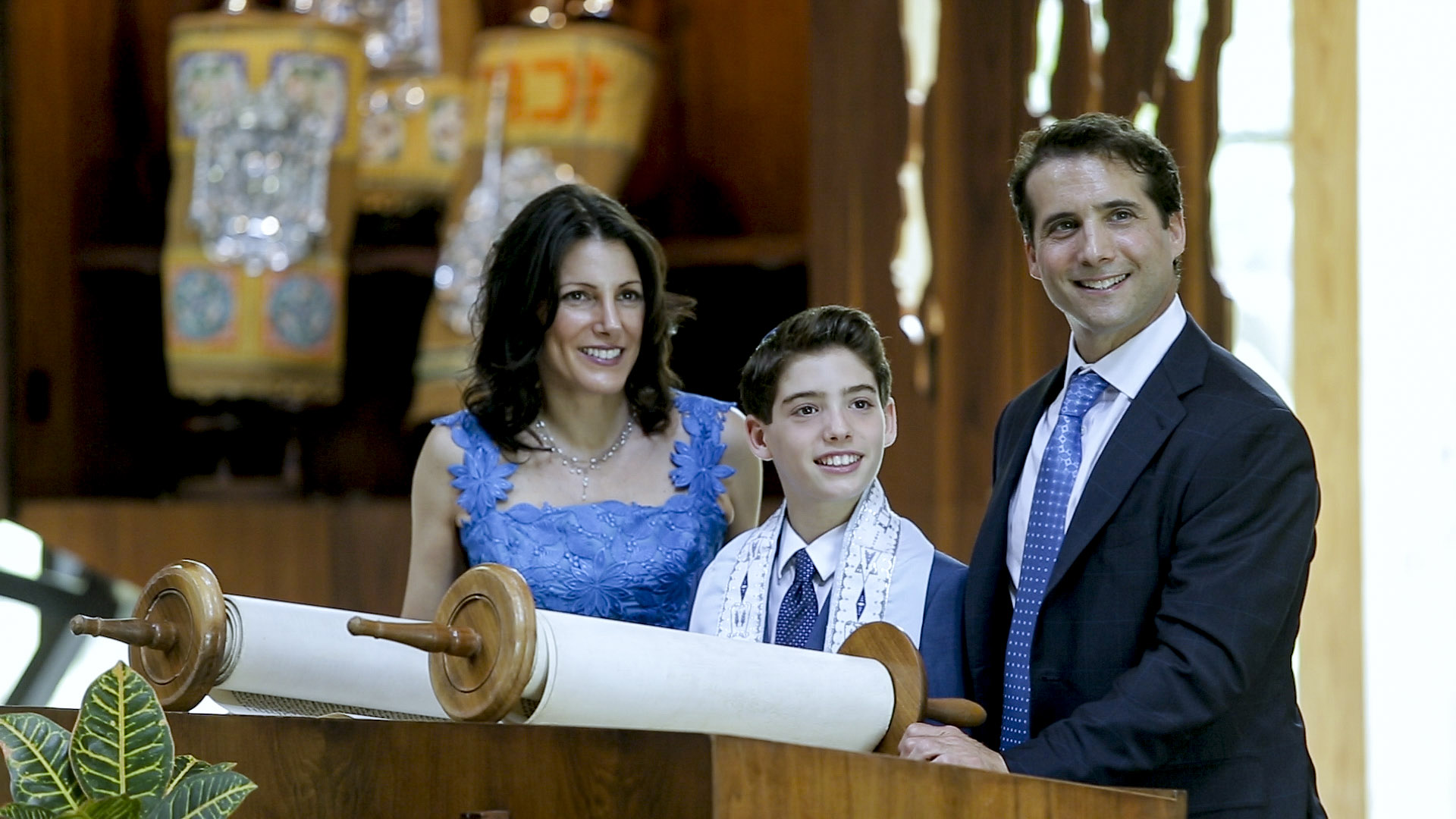 Congregation Emanu-El of Westchester Bar Mitzvah Video of Mac