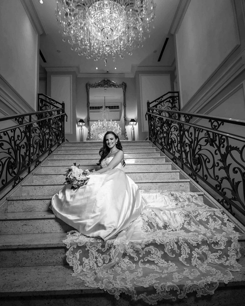 Wedding video sample (black and white)