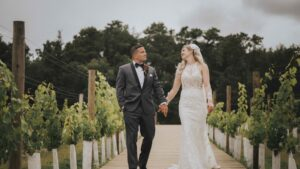 Renault Winery Wedding of Michelle & John